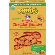 Annie's Organic Pizza Cheddar Bunnies Snack Crackers