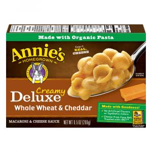 Annie's Deluxe Whole Wheat & Cheddar Shells