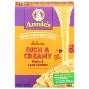 Annie's Deluxe Wisconsin Cheddar Shells