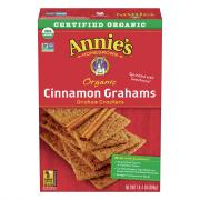 Annie's Organic Cinnamon Graham Crackers