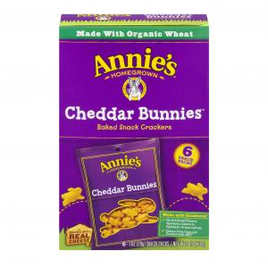 Annie's Cheddar Bunny Snack Pack