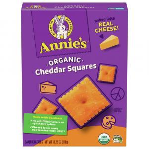 Annie's Organic Cheddar Squares