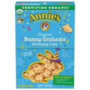 Annie's Organic Birthday Cake Bunny Grahams