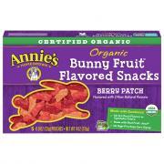 Annie's Organic Bunny Fruit Snacks Berry Patch