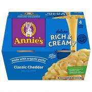Annie's Microwave Deluxe Rich & Creamy Shells & Cheddar