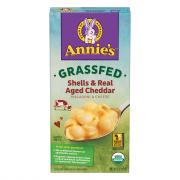 Annie's Organic Grass Fed Shells Aged Cheddar Mac and Cheese