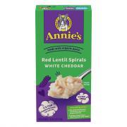 Annie's Gluten Free Red Lentil Spirals White Cheddar Pasta