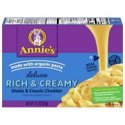 Annie's Deluxe Rich & Creamy Shells & Classic Cheddar