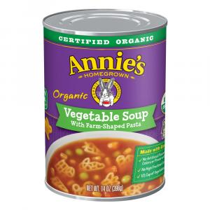 Annie's Organic Vegetable With Farm Pasta Soup