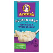 Annie's Gluten Free Shells and White Cheddar Pasta