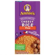 Annie's Cheesy Rice Pizza with Hidden Vegetables