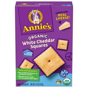Annie's Organic White Cheddar Squares