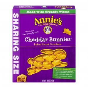 Annie's Cheddar Bunny Crackers