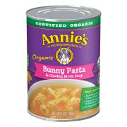 Annie's Organic Bunny Pasta & Chicken Broth Soup