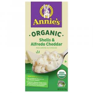 Annie's Organic Homegrown Alfredo Shells