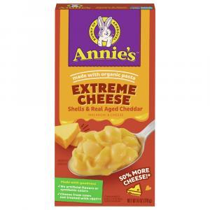 Annie's Extreme Mac & Cheese Aged Cheddar Pasta Shells