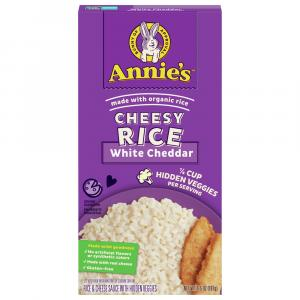 Annie's Cheesy Rice White Cheddar with Hidden Vegetables
