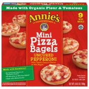 Annie's Pepperoni Mini Pizza Bagels