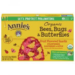 Annie's Organic Bees, Bugs & Butterflies Fruit Snacks