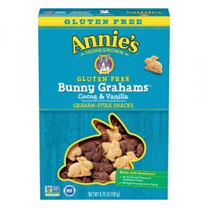 Annie's Gluten Free Homegrown Cocoa Vanilla Bunny Cookies