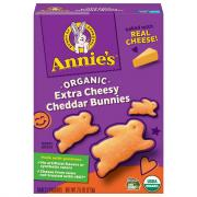 Annie's Homegrown Extra Cheesy Cheddar Bunny Snack Crackers