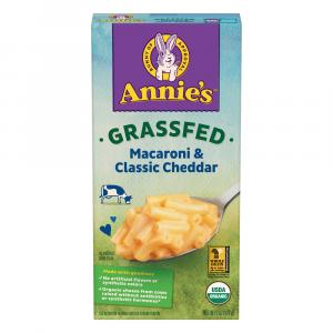 Annie's Organic Grass Fed Classic Mac and Cheese