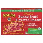 Annie's Organic Bunny Fruit Snacks Summer Strawberry