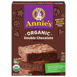 Annie's Homegrown Organic Double Chocolate Brownie Mix