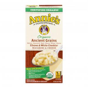 Annie's Organic 5-grain Elbows & White Cheddar
