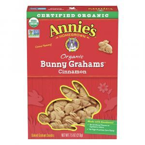 Annie's Homegrown Organic Cinnamon Bunny Graham Snacks