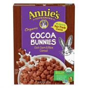 Annie's Organic Cocoa Bunny Cereal