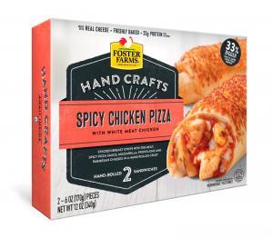 Foster Farms Hand Crafts Spicy Chicken Pizza Sandwiches