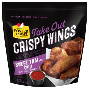 Foster Farms Sweet Thai with Chili Sauce Crispy Wings