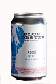 Blue Lobster Rose Wine