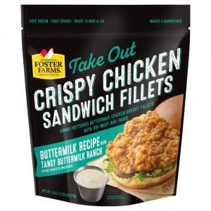 Foster Farms Take Out Crispy Buttermilk Ranch Chicken Filets