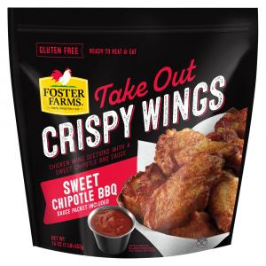 Foster Farms Sweet Chipotle BBQ Crispy Wings