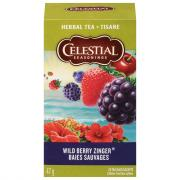 Celestial Seasonings Wild Berry Zinger Tea Bags