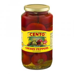 Cento Whole Cherry Peppers