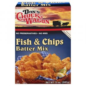 Don's Fish & Chips Batter Mix