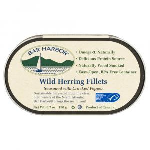 Bar Harbor Wild Herring Fillets With Cracked Pepper