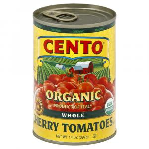 Cento Organic Whole Cherry Tomatoes