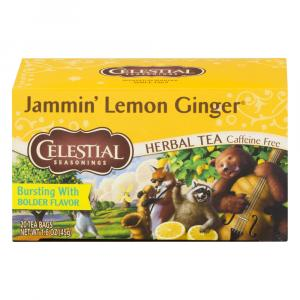 Celestial Seasonings Lemon Ginger Tea Bags