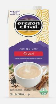 Oregon Organic Chai Spiced Tea Latte Concentrate