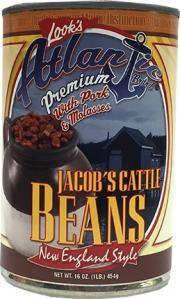 Atlantic Jacob's Cattle Beans