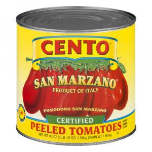 Cento Certified San Marzano Peeled Tomatoes