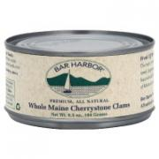 Bar Harbor Maine Cherrystone Clams