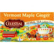 Celestial Vermont Maple Ginger Herbal Tea
