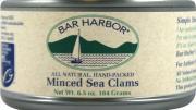 Bar Harbor Minced Clams