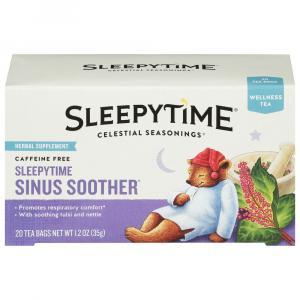 Celestial Sleepytime Sinus Soother Wellness Tea Bags