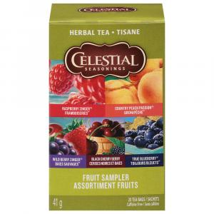 Celestial Seasonings Fruit Tea Sampler Tea Bags